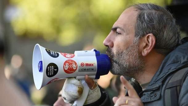 Пашинян став єдиним кандидатом на посаду прем'єр-міністра Вірменії