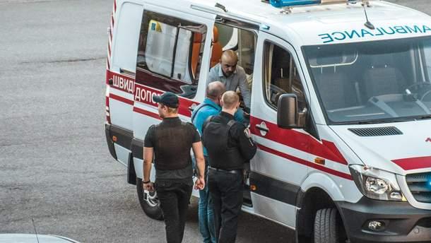 Мустафа Найем после избиения
