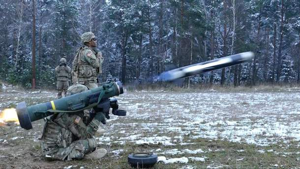 """""""Джавелины"""" для украинской армии"""