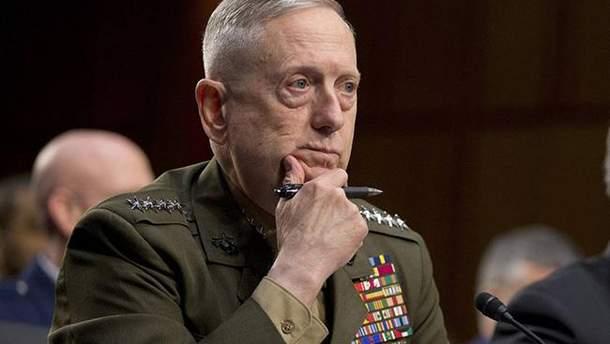 Меттіс розповів, що США не хочуть виводити свої війська з Сирії