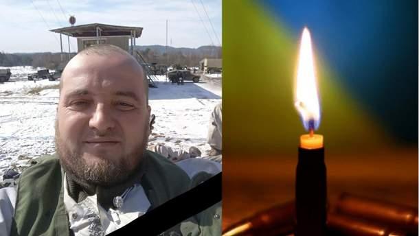 На Донбасі помер боєць Володимир Хоптяр