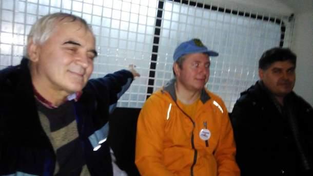 ВПетербурге задержали нескольких участников первомайской демонстрации
