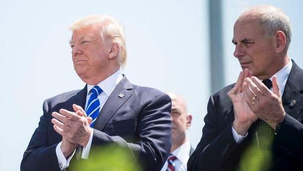 Руководитель аппарата Белого дома назвал Трампа «ненормальным»