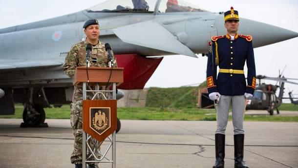 Британские истребители будут патрулировать пространство над Черным морем
