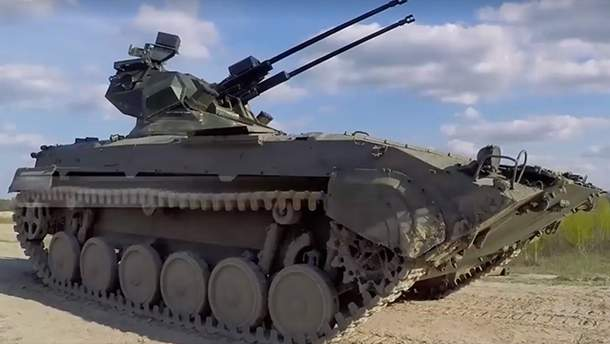 Бронетехника с боевым модулем