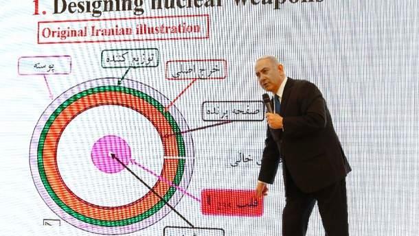 """В Ірані назвали прем'єра Ізраїлю """"безчесним брехуном"""" за його слова про ядерні розробки країни"""
