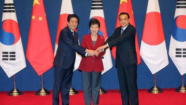 В Токіо відбудеться тристоронній саміт лідерів Кореї, Китаю та Японії
