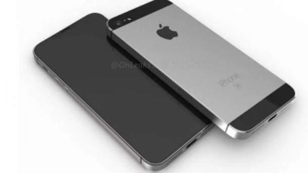 Так може виглядати   iPhone SE 2