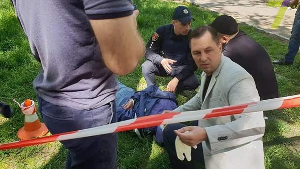 Стерненко написав ім'я свого нападника і версії мотивів