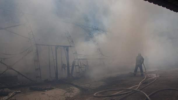 У Дніпрі спалахнула пожежа на друкарні