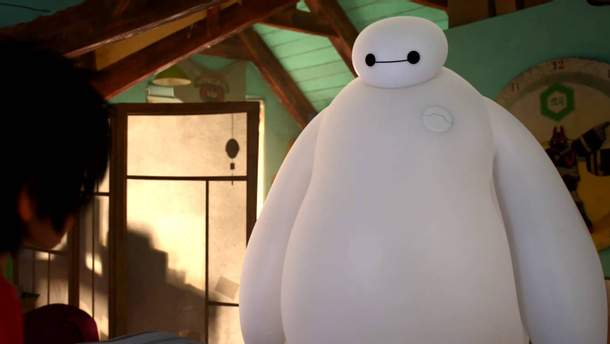 Надувной робот от Disney: видео