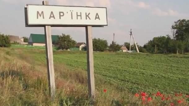 Пророссийские боевики обстреляли больницу и частные дома в Марьинке