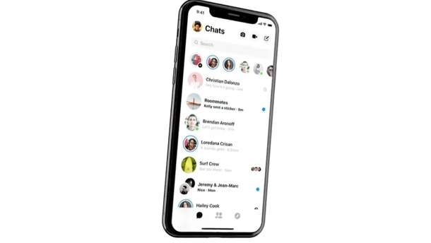 Facebook Messenger отримає новий дизайн