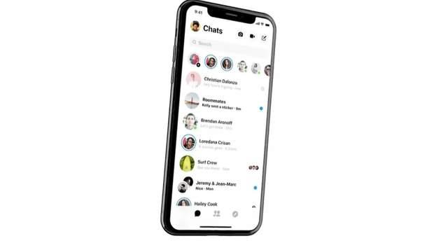 Facebook Messenger получит новый дизайн