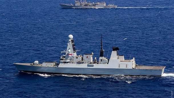 В Черное море вошли военные корабли НАТО