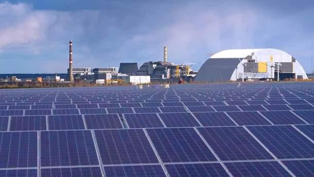 У Чорнобилі відкрили сонячну електростанцію