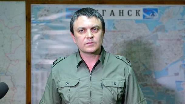 Лідер бойовиків Пасічник