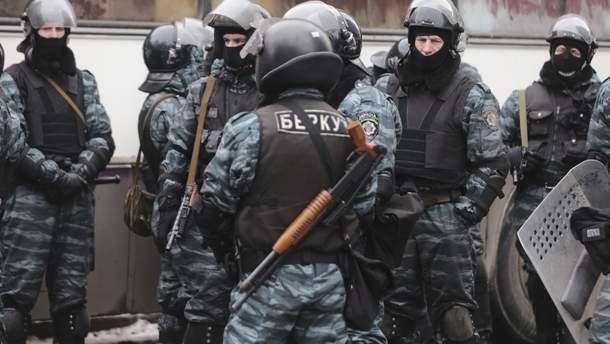 """""""Беркутовцы"""" во время Революции Достоинства"""