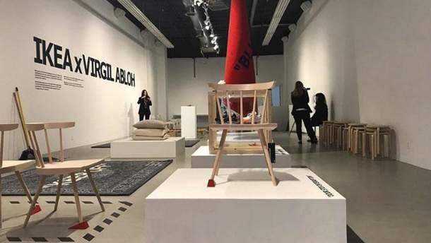 ІКЕА та дизайнер Louis Vuitton Вірджіла Абло створюють нову колекцію меблів