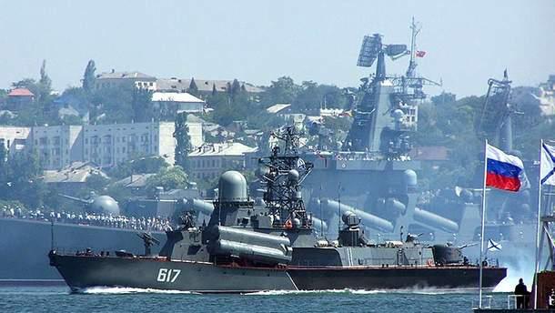 Россия бросает вызов международному порядку своими действиями на Черном и Балтийском море