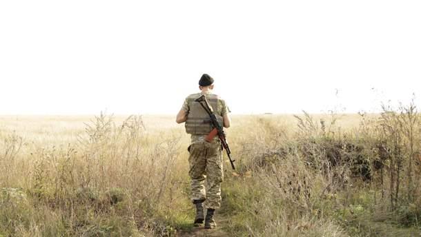 Український військовий після обстрілу з боку бойовиків зник на Донбасі