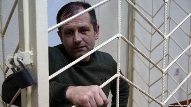 Володимир Балух не приймає їжі з 19 березня