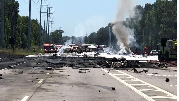УСША розбився військово-транспортний літак, 5 людей загинули