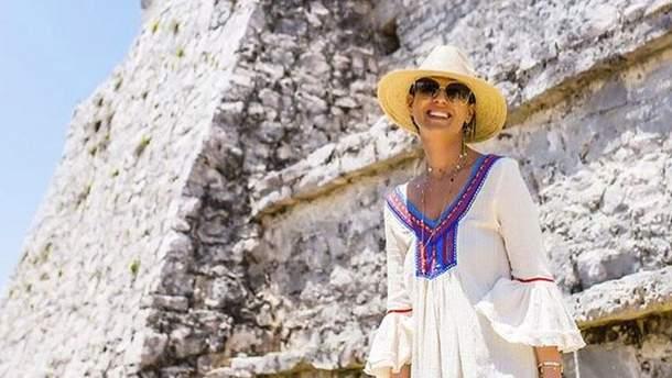 Маша Ефросинина на отдыхе