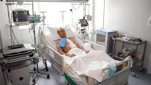 Олександр Турзін після операції на серці