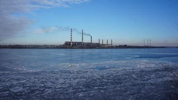 Робота Придніпровської ТЕС зупинилася через аварію
