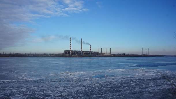 Работа Приднепровской ТЭС остановилась из-за аварии
