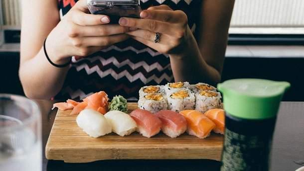 Як їсти суші