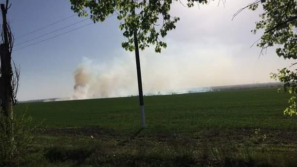 Взрывы на складе боеприпасов в Балаклее прекратились