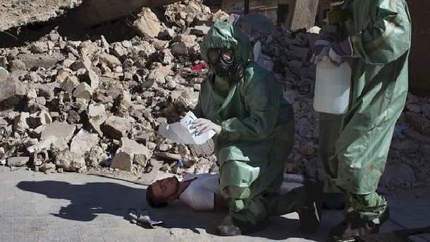 Інспектори ексгумують тіла жертв хімічної атаки в Думі
