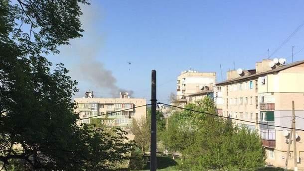 За фактом пожежі у Балаклії прокуратура відкрила справу