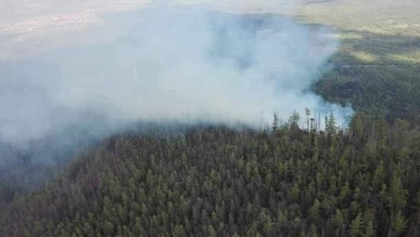 Пожар в Словакии