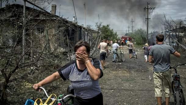 Ворог використовує мешканців Донбасу у якості живого щита для захисту своїх позицій