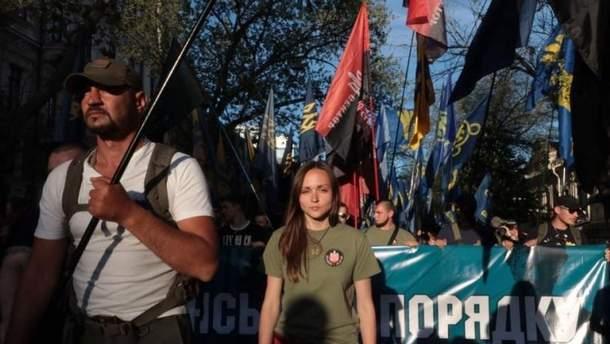 В Одессе прозвучали скандальные антисемитские лозунги