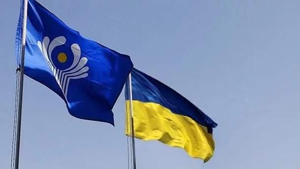 Украина должна выйти из СНГ, поскольку ею управляет Россия-агрессор