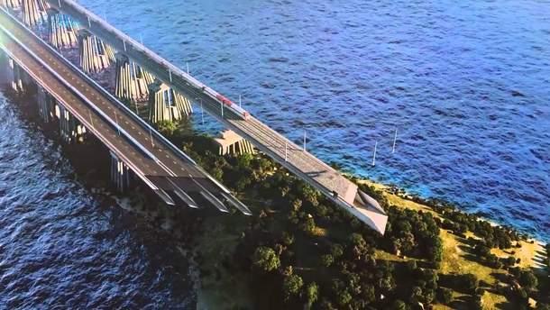 Росія з тріском перенесла відкриття моста в Крим