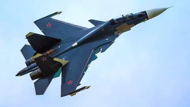 Российский истребитель СУ-30СМ разбился в Сирии
