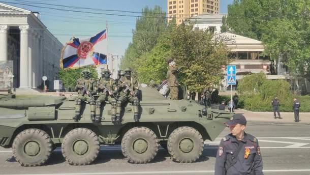 В оккупированном Донецке готовятся к Дню победы