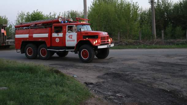 Рятувальники локалізували пожежу у Балаклії