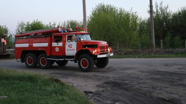 Спасатели локализовали пожар в Балаклее