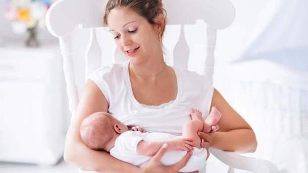 Грудне вигодовування малюка