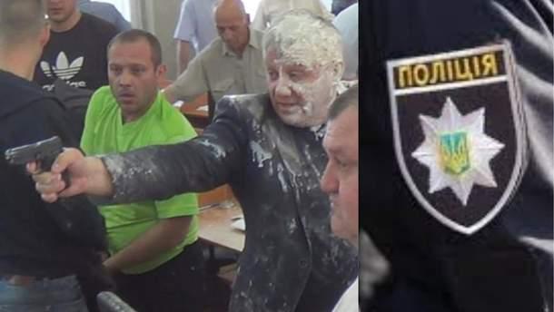 Полиция расследует стрельбу в горсовете Никополя