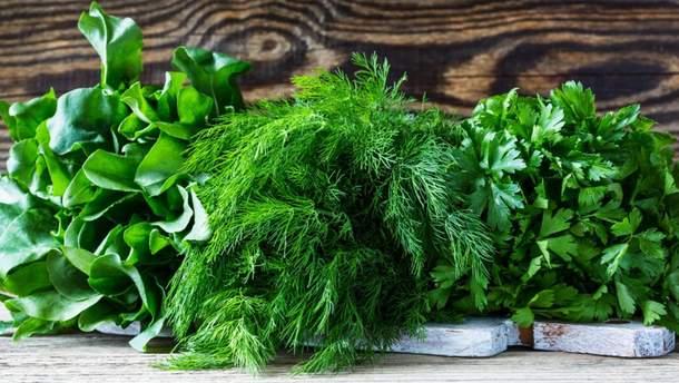 Веские аргументы для здоровья употреблять зелень ежедневно