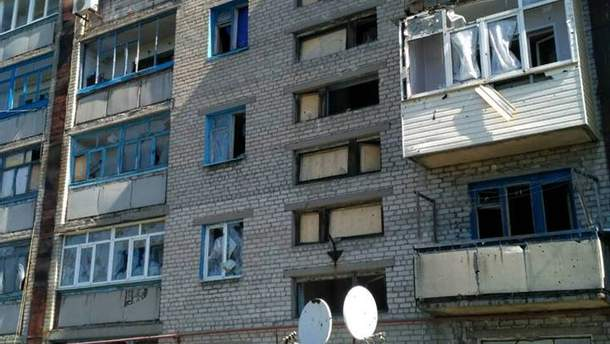 В итоге обстрела Майорска пострадали 3 дома,— милиция