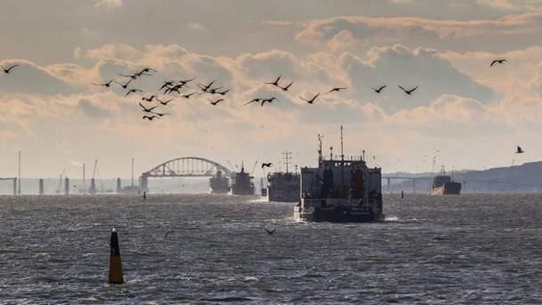 Нидерландские компании помогали оккупантам строить Керченский мост