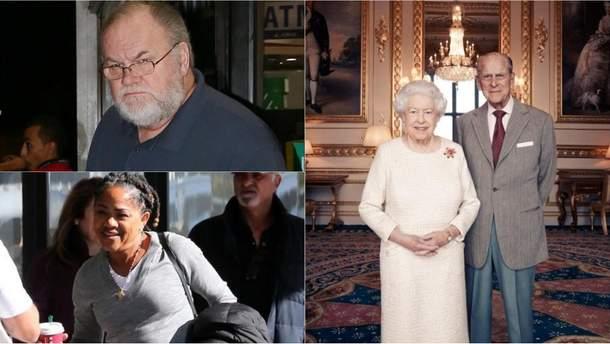 Батьків Меган Маркл запросили на зустріч з Єлизаветою II перед весіллям